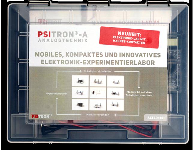 Geschlossener Positron-Koffer